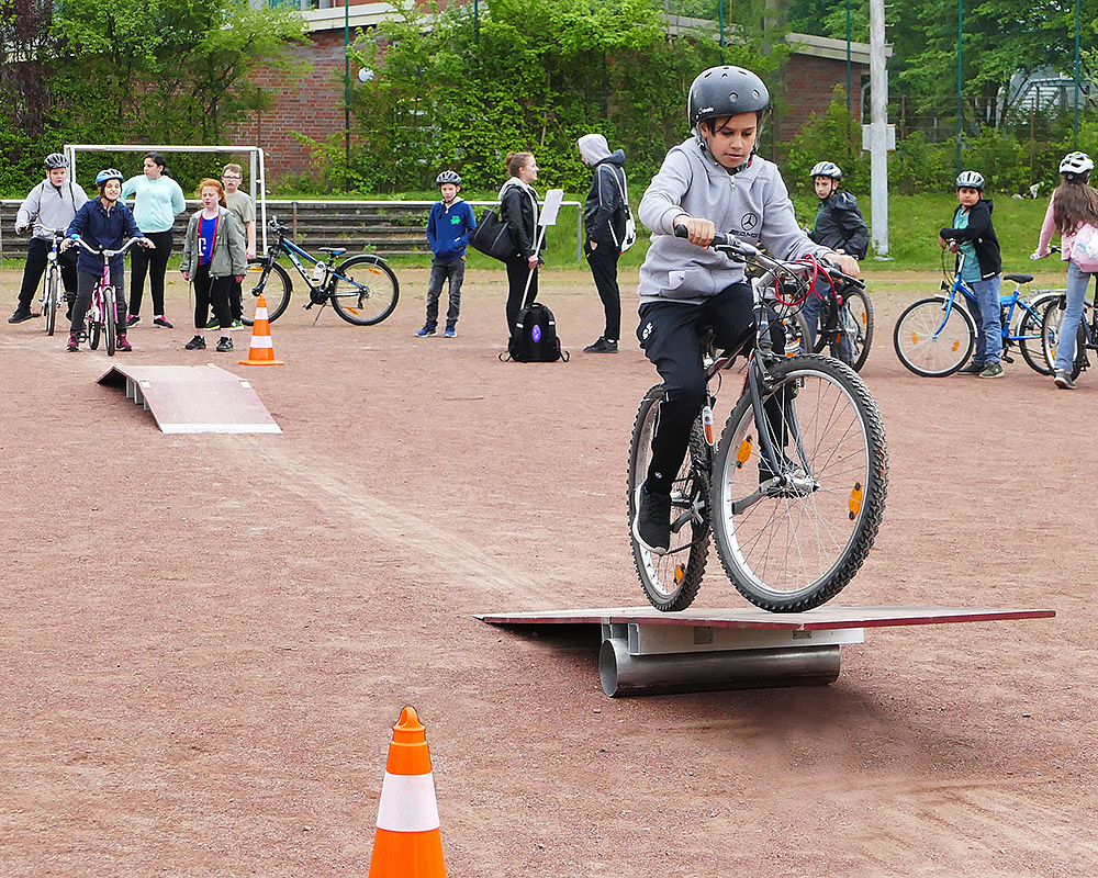 Der Fahrradtag an der MSM