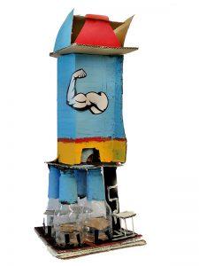 Mehr-Funktionen-Turm mit Fitness-Center von Fernando und Vinh