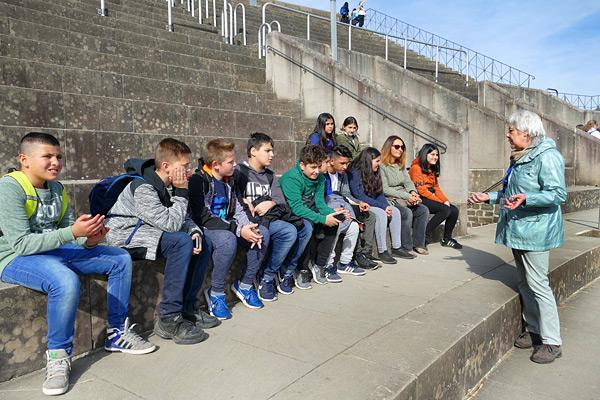 Über Bären und Gladiatoren erfuhren die SchülerInnen viel Neues.