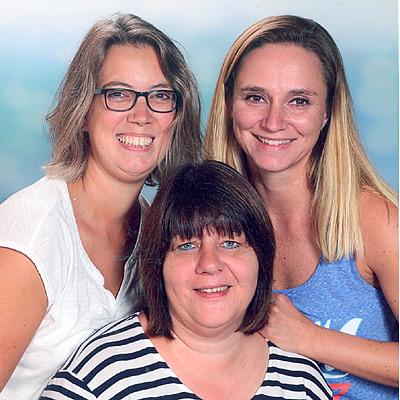 von links nach rechts: Simone Kulm, Monika Sommer, Sabrina Schamell