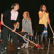 Eine Szene auf der Bühne der MSM