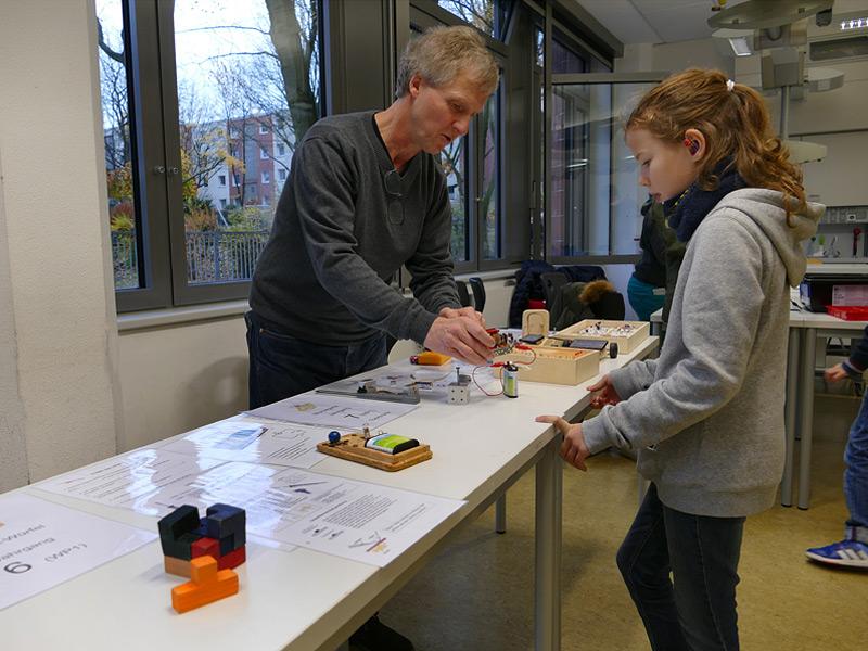 Elektrotechnik, Foto: Anke Droste