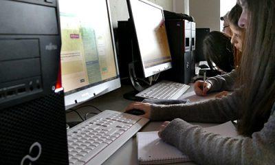 Arbeit am Rechner