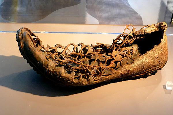 Schuhgröße 46, so klein waren anscheinend doch nicht alle Römer!